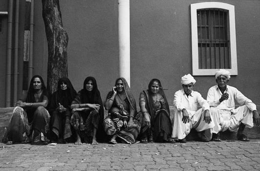 Pilgrims in wait