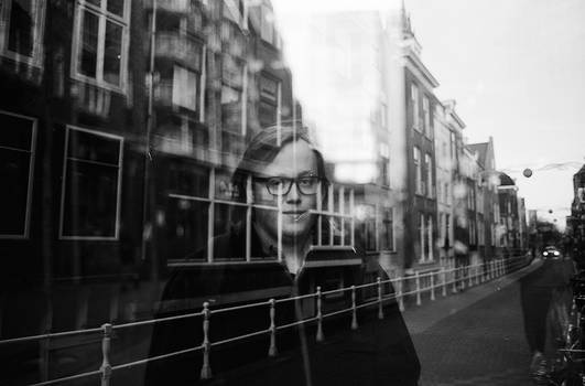 Reflections on city life - Portraits #5