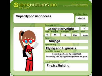 My super hero SuperHypnosisPrincess by TadashiRaiden