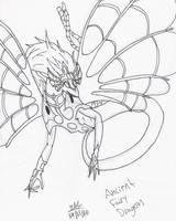 Ancient Fairy Dragon sketch by MissKilvas