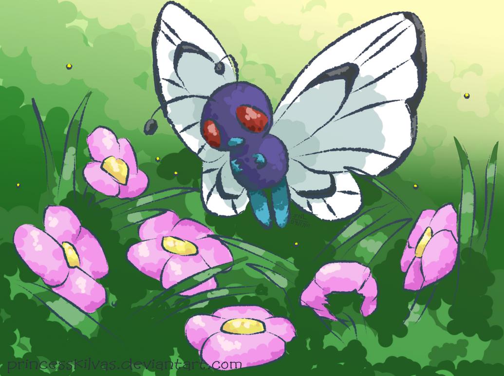 Butterfree by PrincessKilvas