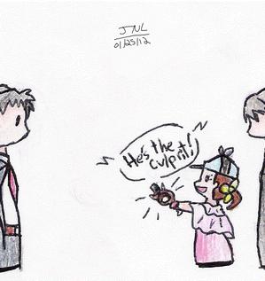 HE'S THE CULPRIT spoilers! by MissKilvas