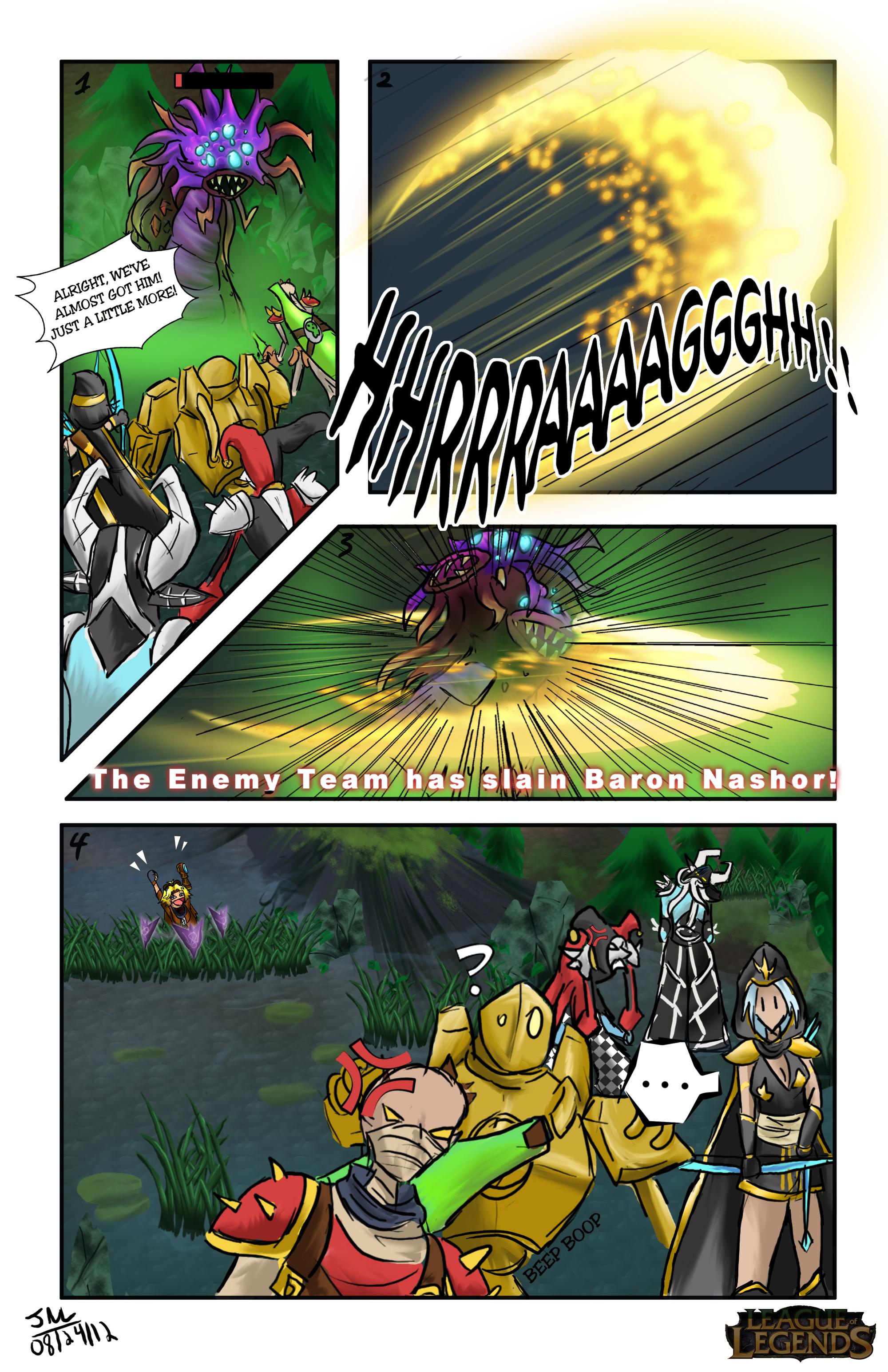 LoLz comic contest entry by PrincessKilvas