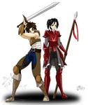 Commission: Shikyaro x Kaitsu
