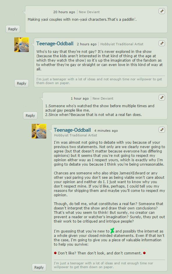 SimonSulk's Comments by Teenage-Oddball