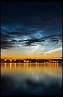 Luminous Nightsky by RS-foto