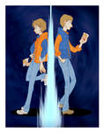 Marty McFly and Rory Williams