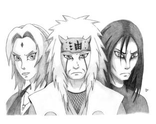 The Sannin by omegathe5th