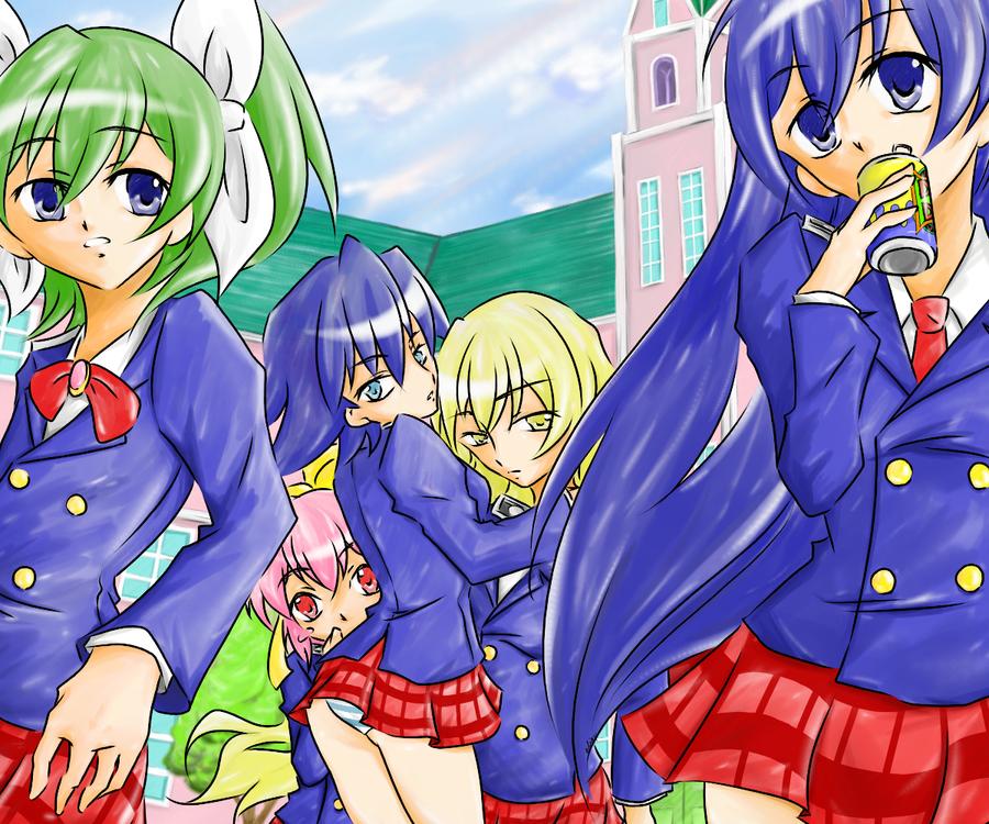 Cobra Manga 2010 Streaming: Saint. Lily Gakuen By Rararando On DeviantArt