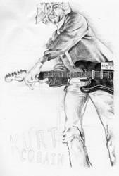 Kurt Cobain by holli-youster
