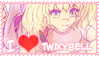 I Love Twixybell Stamp by JayceRan