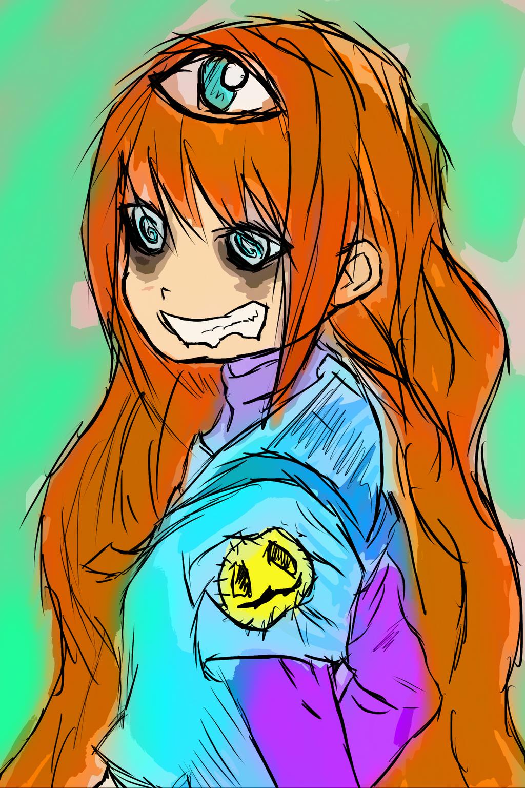 Smile Girl by JayceRan