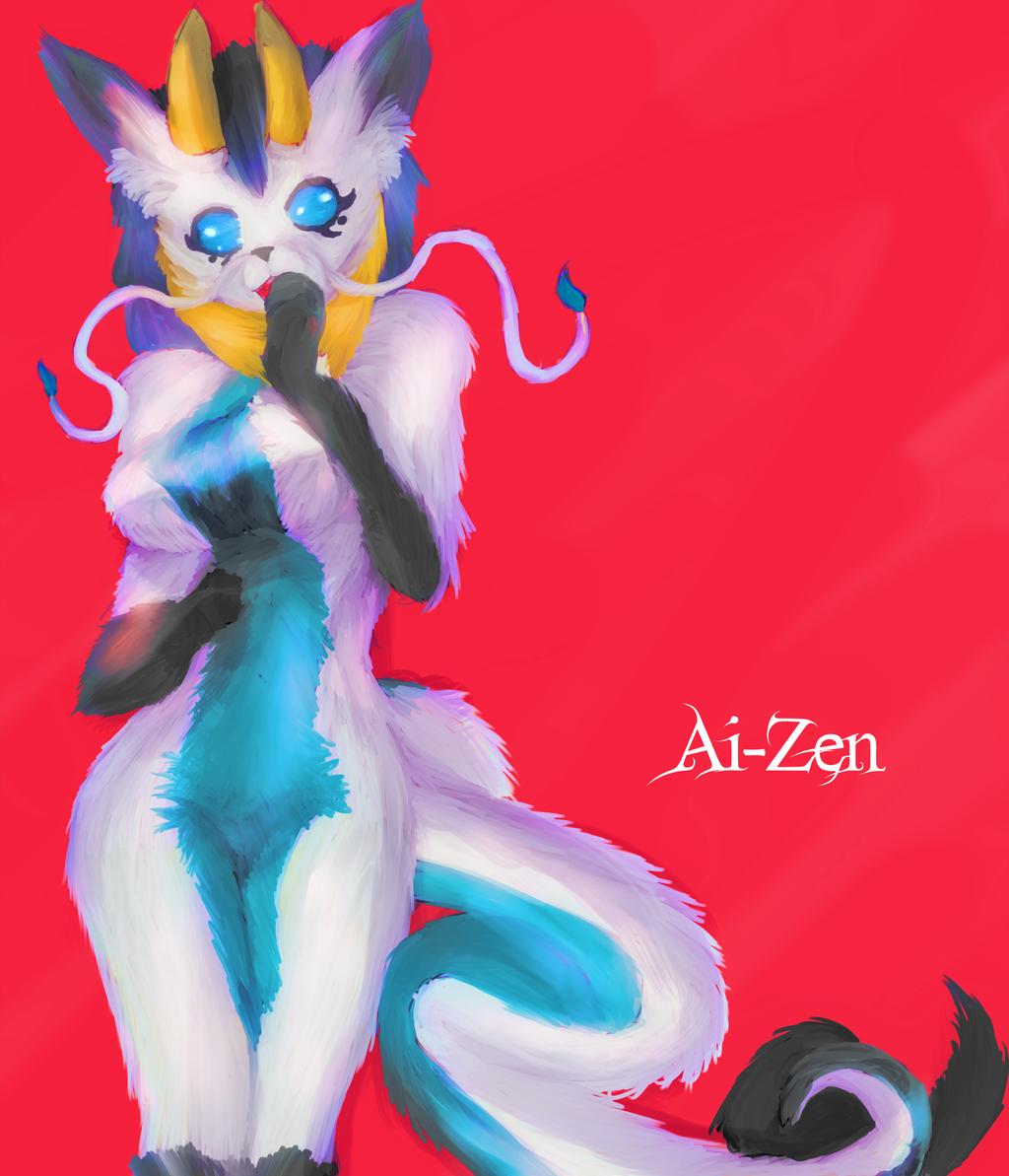 Ai Zen Gift Art by JayceRan