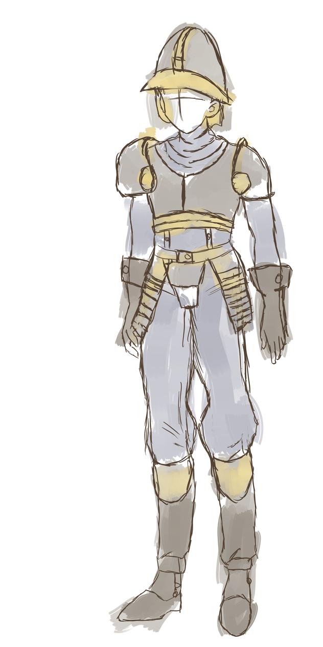 Azurian Soldier Armor Concept by JayceRan