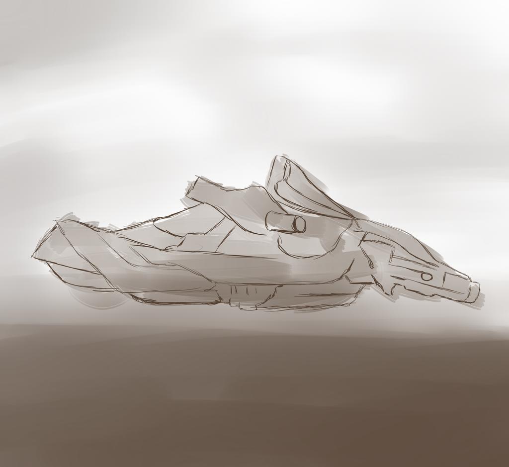 Lyrota Concept Art: Strider Vehicle by JayceRan