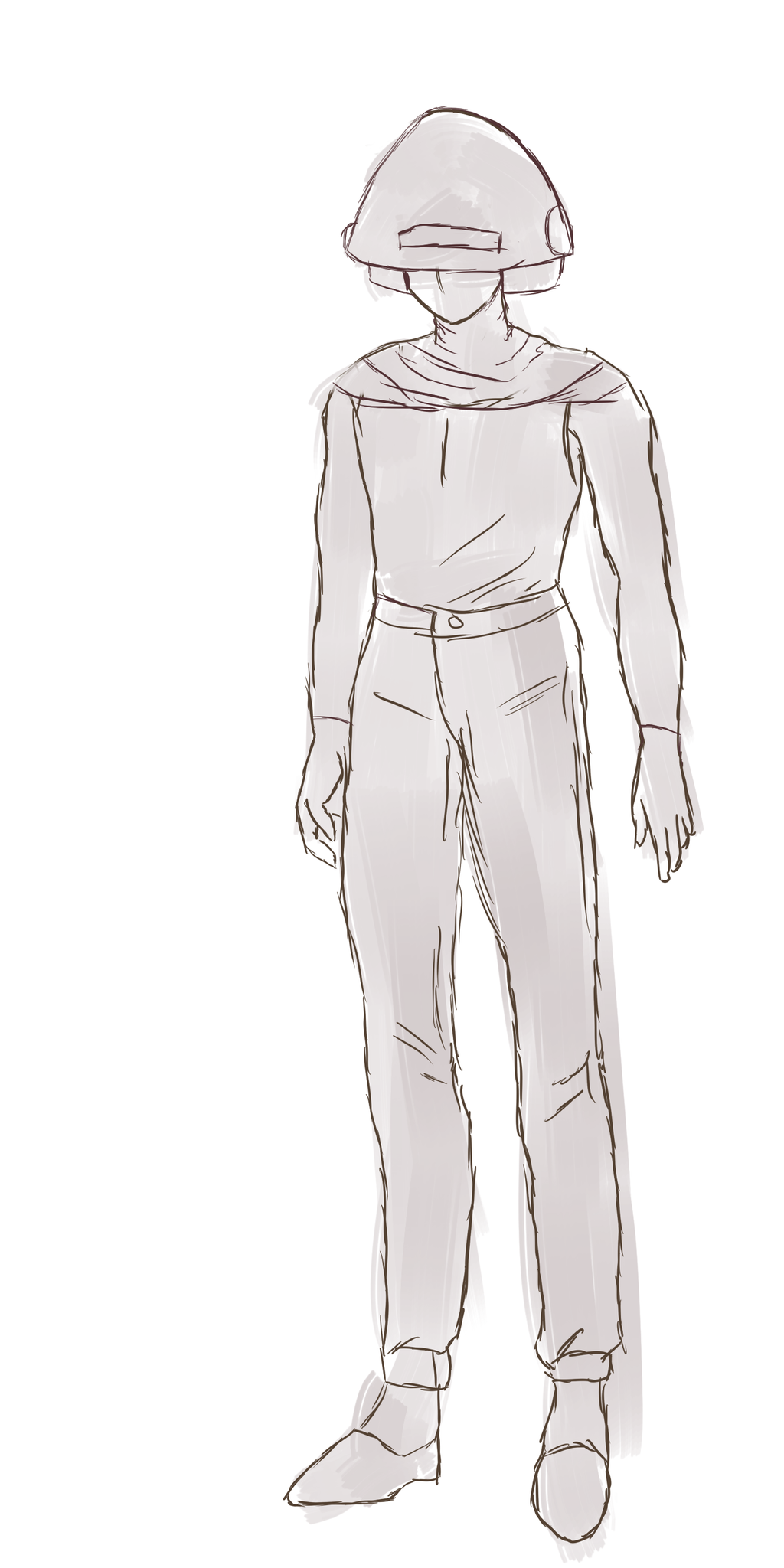 Lyorta Concept Art: Azurian Draft Soldier Gear by JayceRan