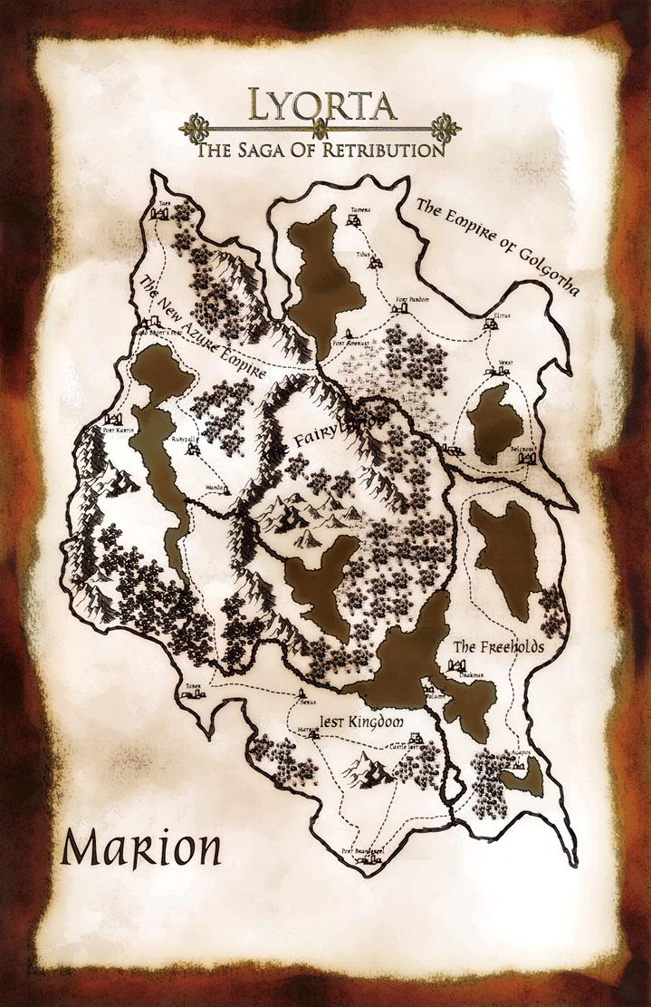 Map Of Marion by JayceRan