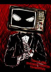 Mr. TV Man by JayceRan