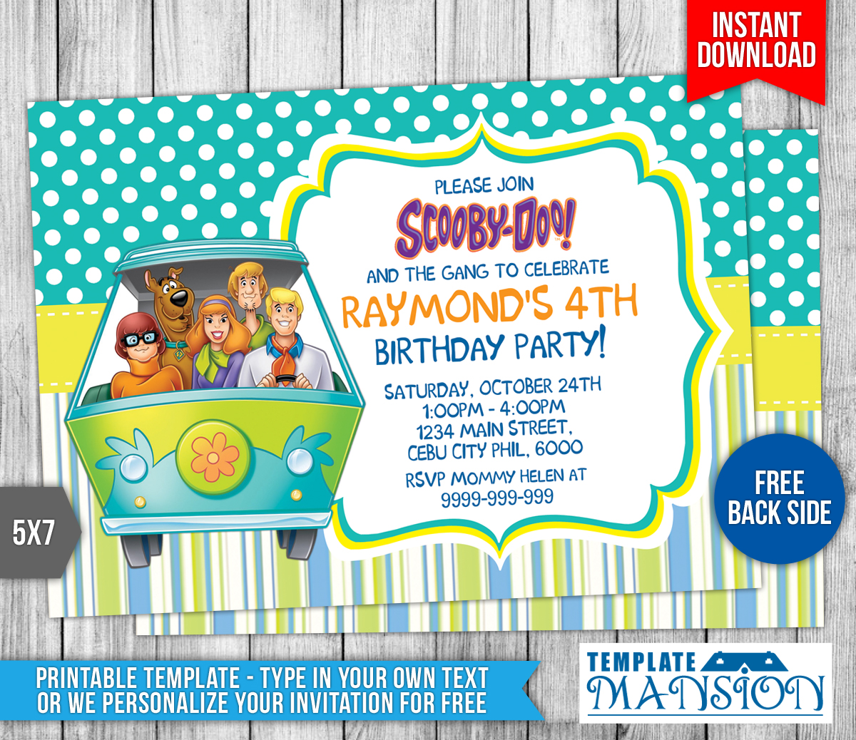 Scooby Doo Invitation Download Free – orderecigsjuice.info