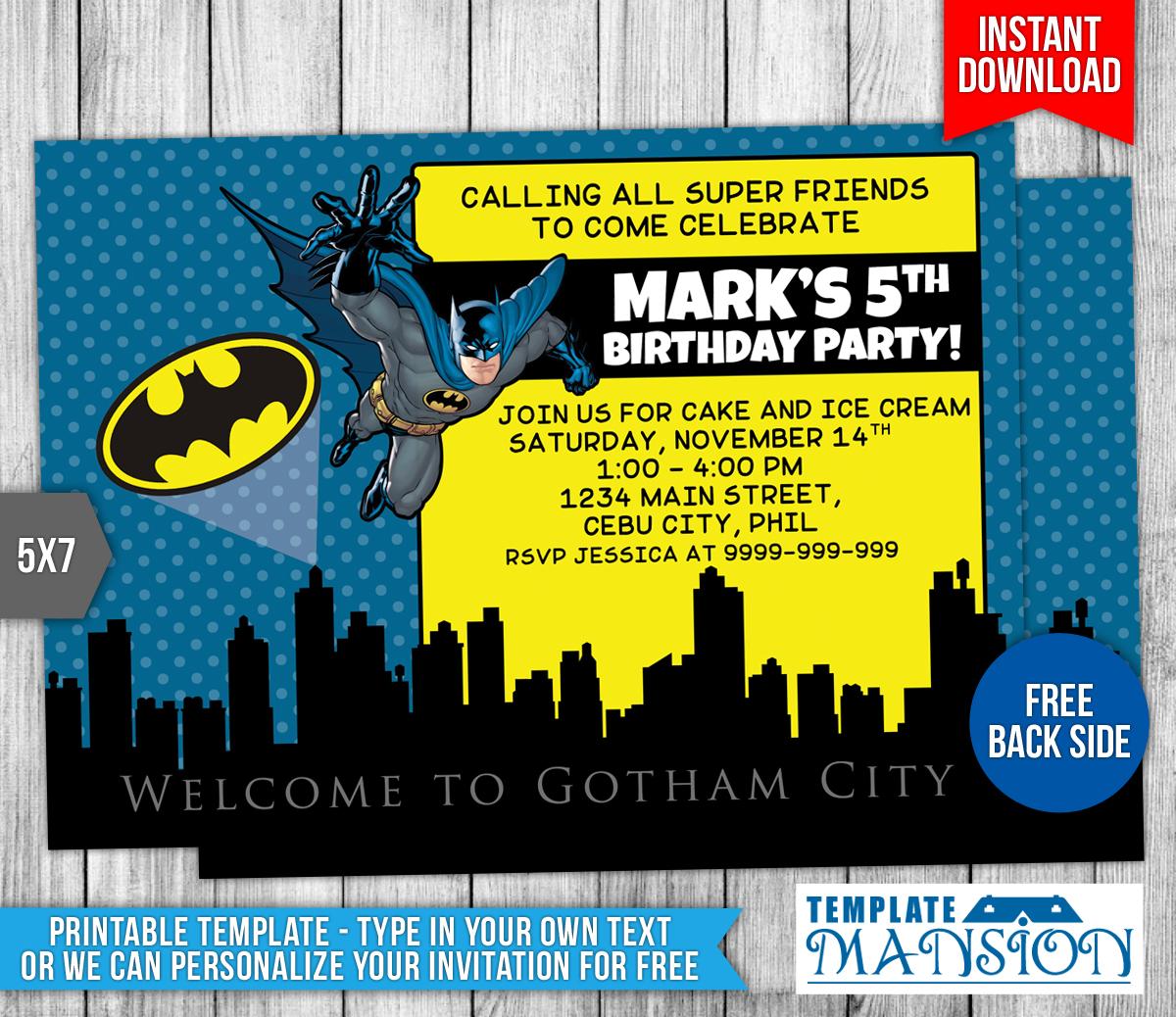 Spiderman Invitation Templates Free were Amazing Design To Make Perfect Invitations Design