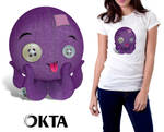 Plush octopus by Qbaska
