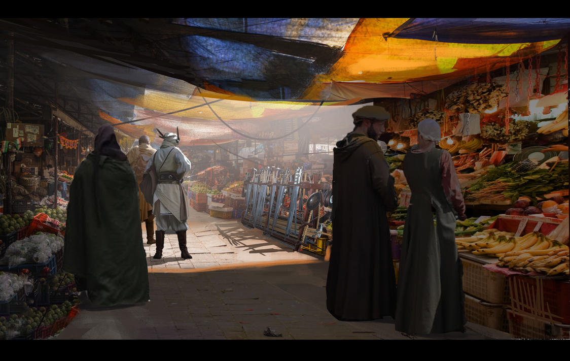 The Market by XY-axis