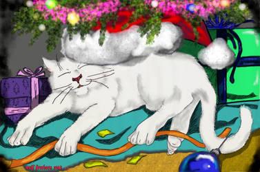 the kitten's vigil by wolffreeborn