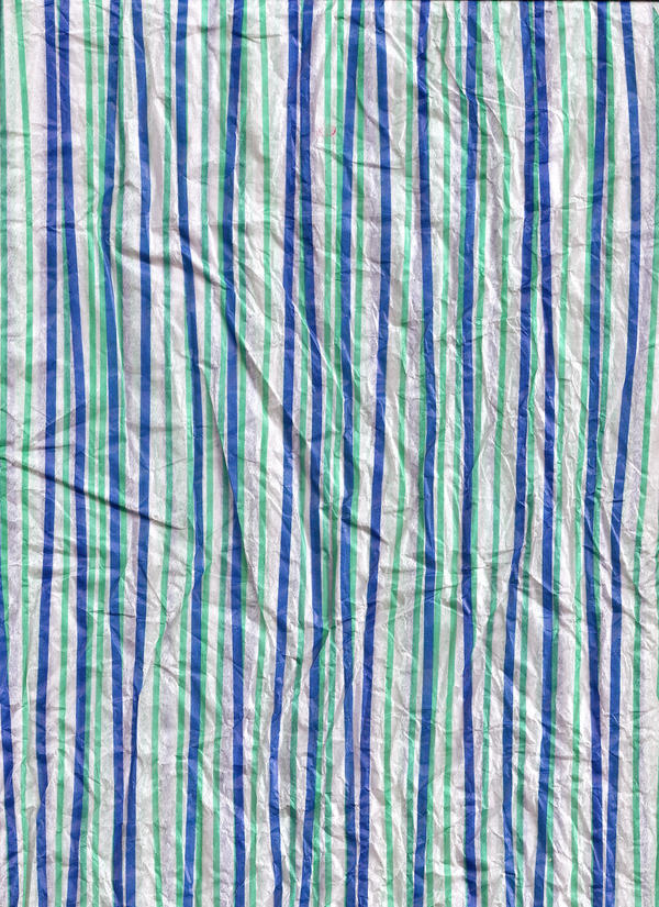 Crinkled Striped Tissue by kizistock
