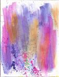 Plum Watercolor by kizistock
