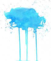 Blue Blotch by kizistock
