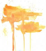 Orange Blotchies by kizistock