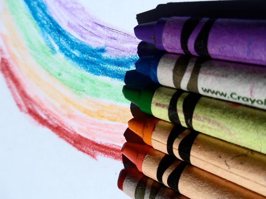 Crayons 5 by kizistock