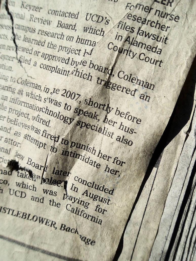Old News II by kizistock