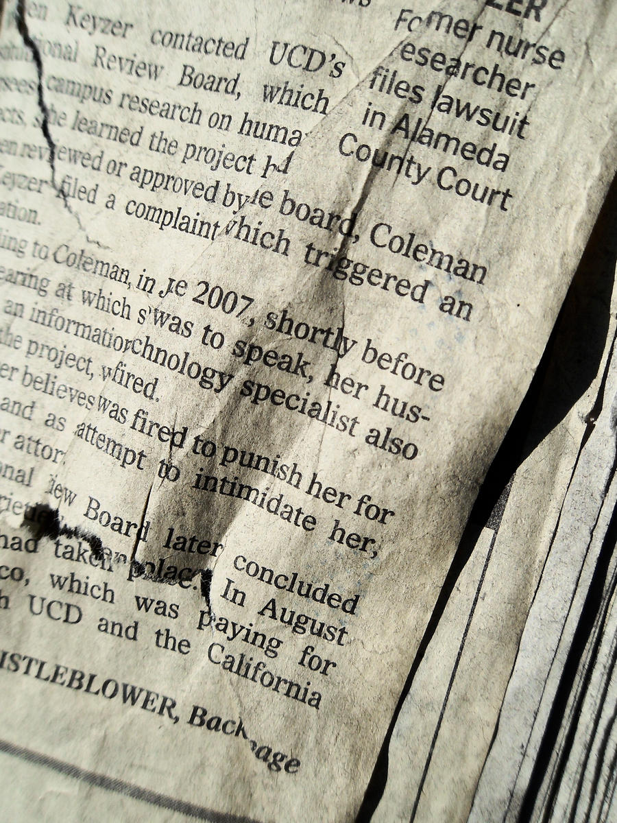 Old News II by kizistock
