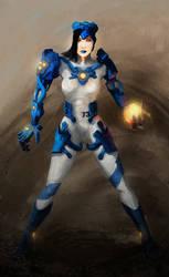 Sandstorm Cyborg by Afarifteh