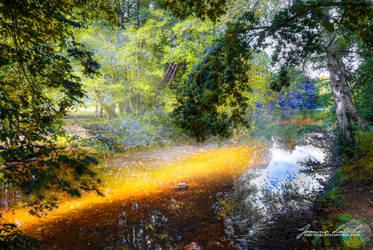 The Wandering Light. by oro-elui