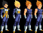Vegeta forms by lord-master