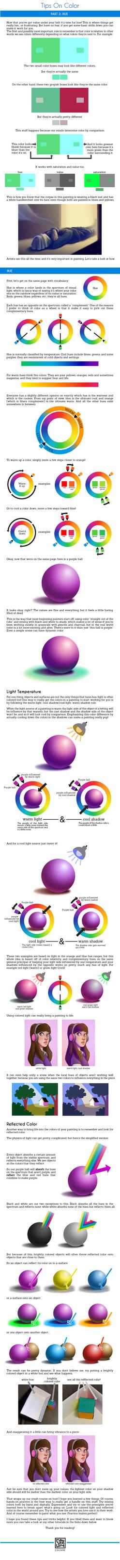 Color Tutorial Part 2: Hue