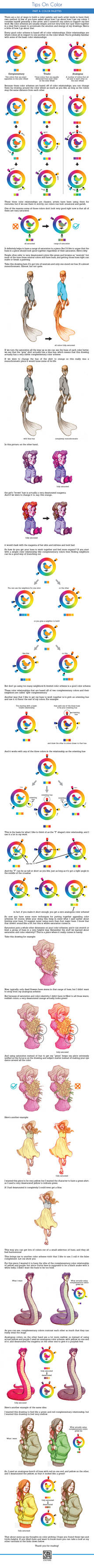Color Tutorial Part 4: Color Picking and Palettes