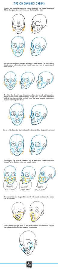 Tips on Drawing Cheeks Tutorial