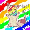 HAPPY NEW YEAR by StupidRainbowFox