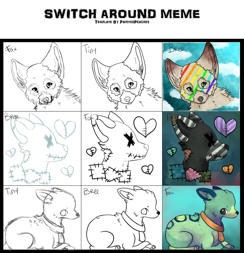 Switch around meme by StupidRainbowFox