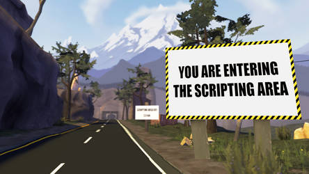 You are entering the Scripting Area by Jake47b