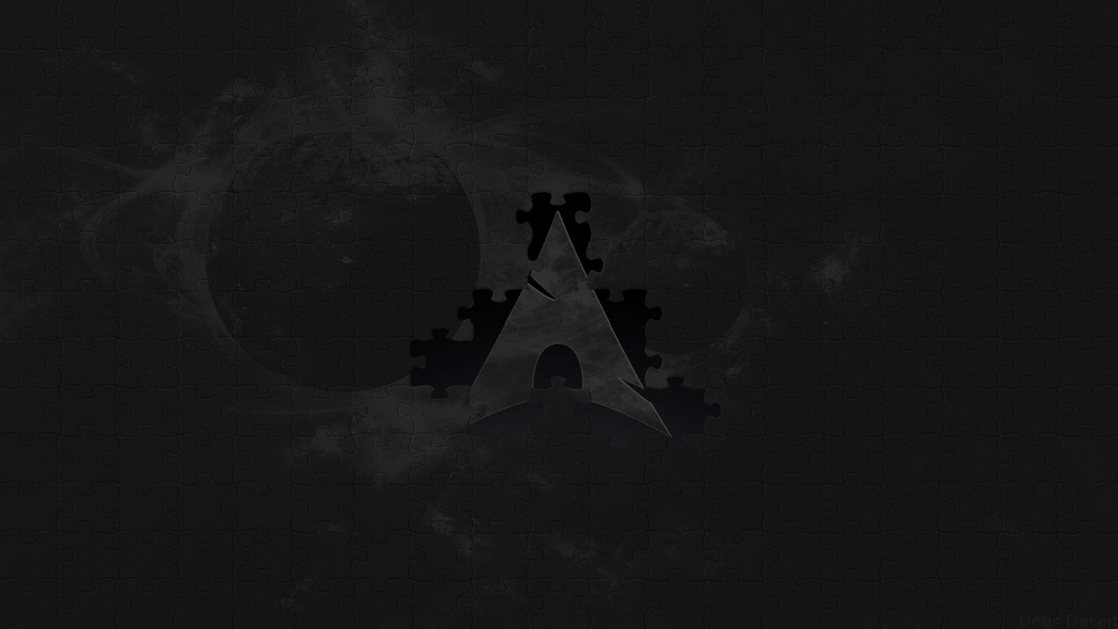 Arch Linux Jigsaw By DeusDeceit
