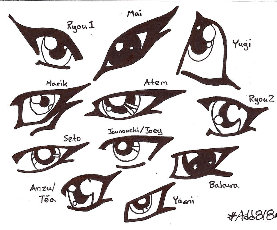 The Eyes Of Yu Gi Oh By Addrianna818