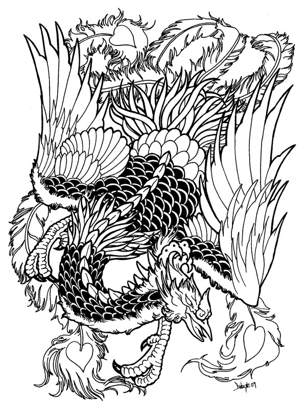 phoenix by ramon on deviantart. Black Bedroom Furniture Sets. Home Design Ideas