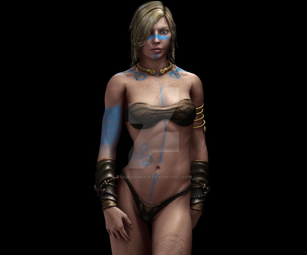 Celtic Warrior Princess By Bigkahuna70 On Deviantart