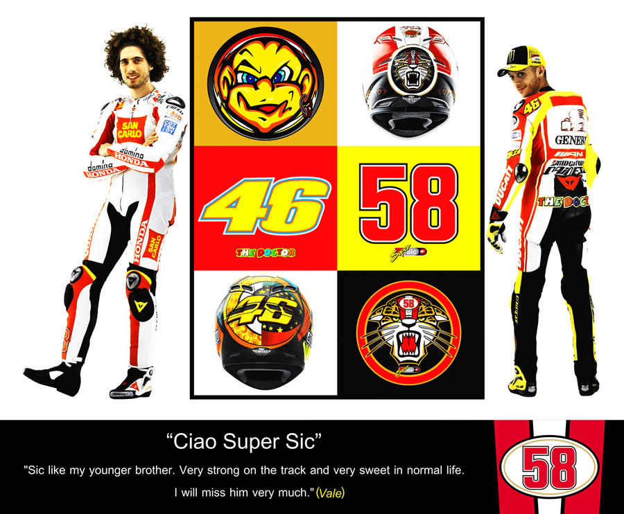 Ciao Super Sic from VR46 by WazenG on DeviantArt