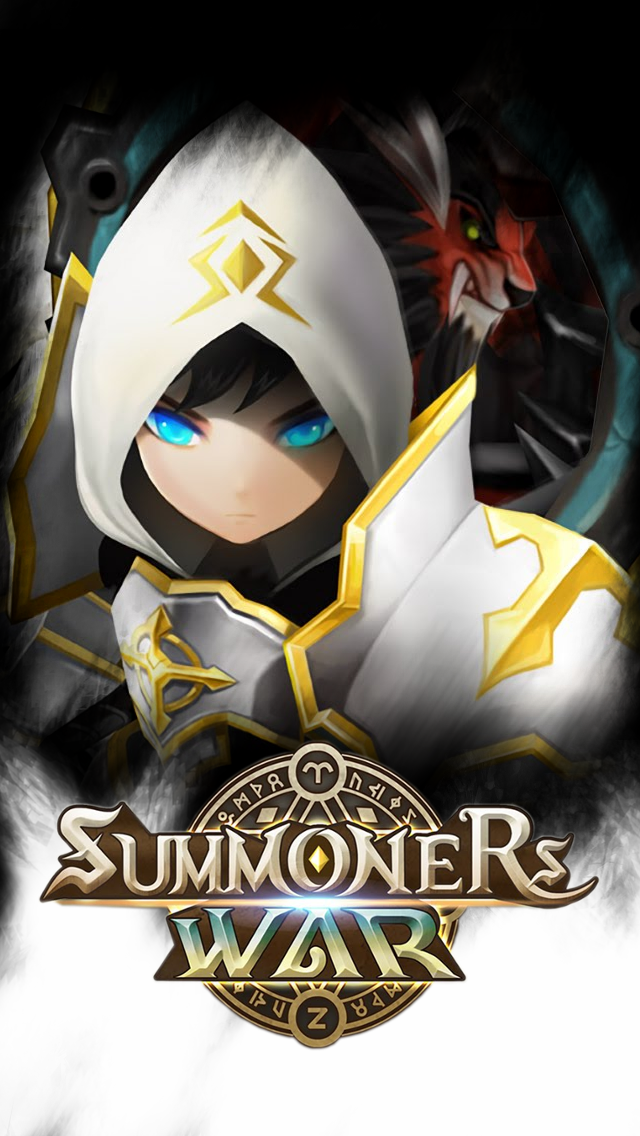 summoners war iphone 5 wallpaper artamiel x rakan by