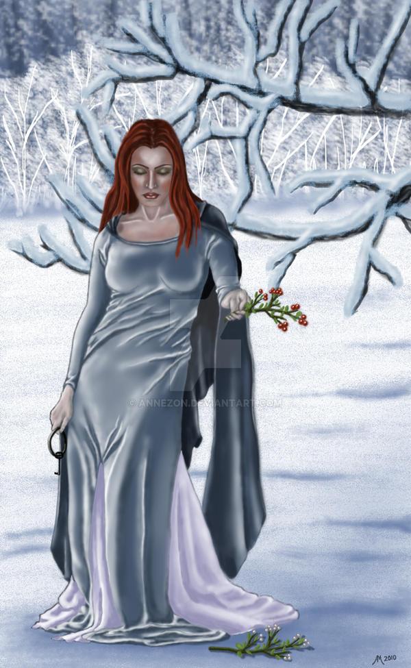 frigga norse goddess by annezon on deviantart